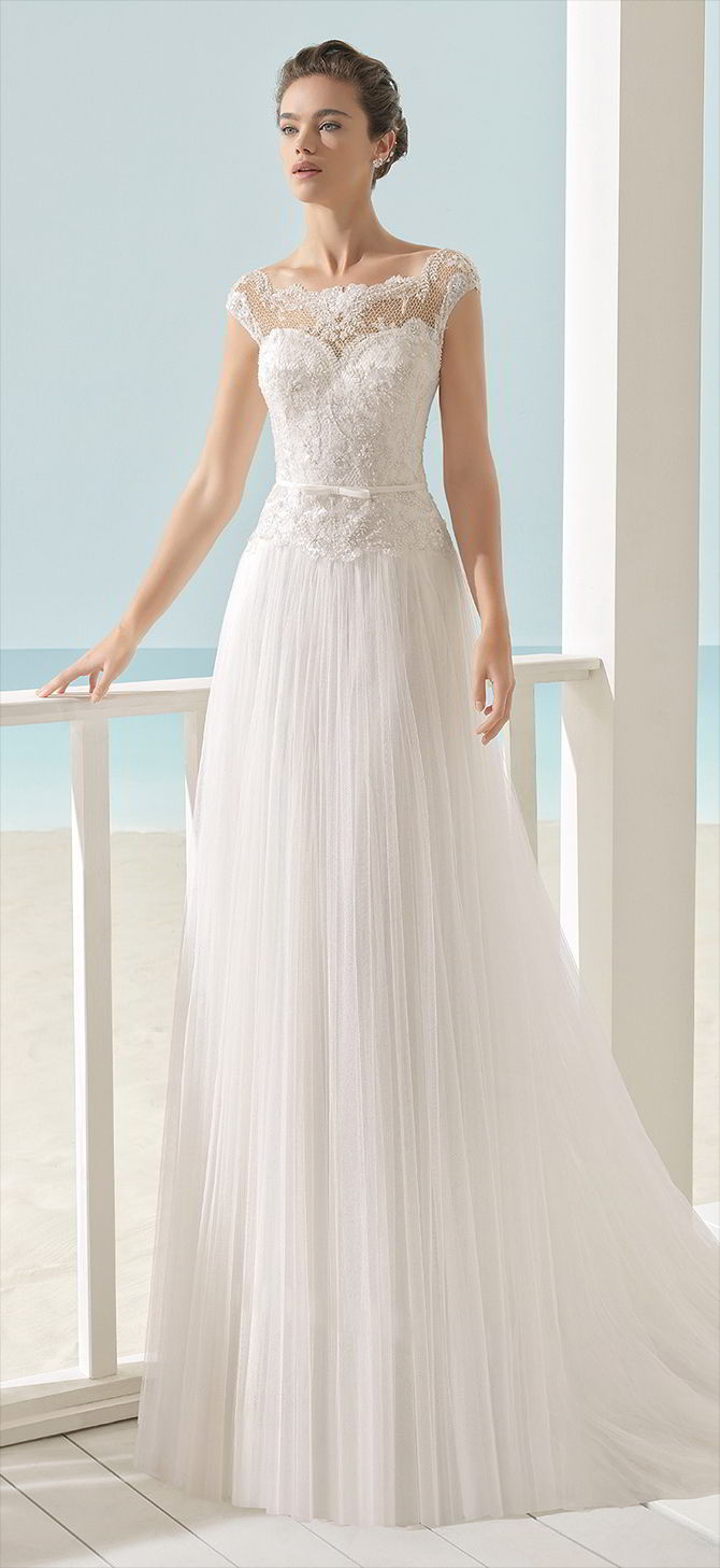 Aire Barcelona 2017 Beach Wedding Dresses - World of Bridal