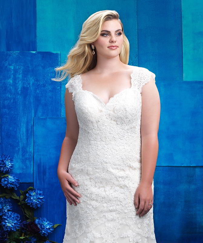 Allure Women Spring 2017 Plus Size Wedding Dresses - World of Bridal