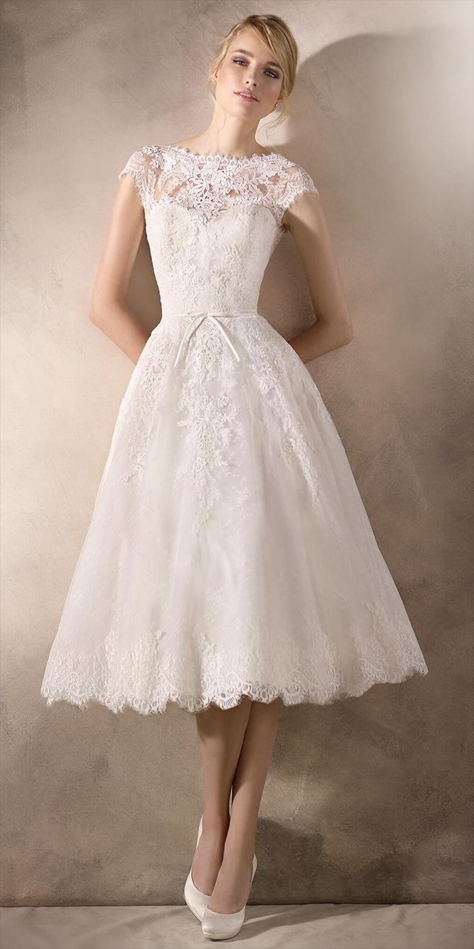 La Sposa 2017 Short Wedding Dress