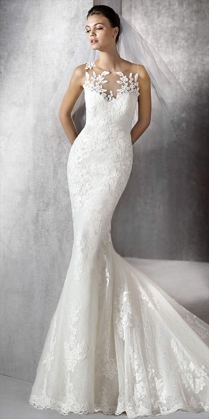 Stunning Silk Mermaid Wedding Dresses Contemporary - Styles & Ideas ...