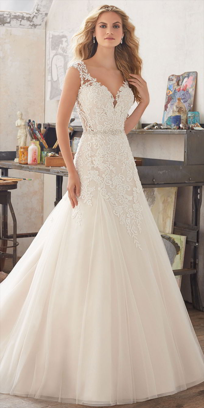 Mori Lee by Madeline Gardner Spring 2017 Fairytale Bridal Gown