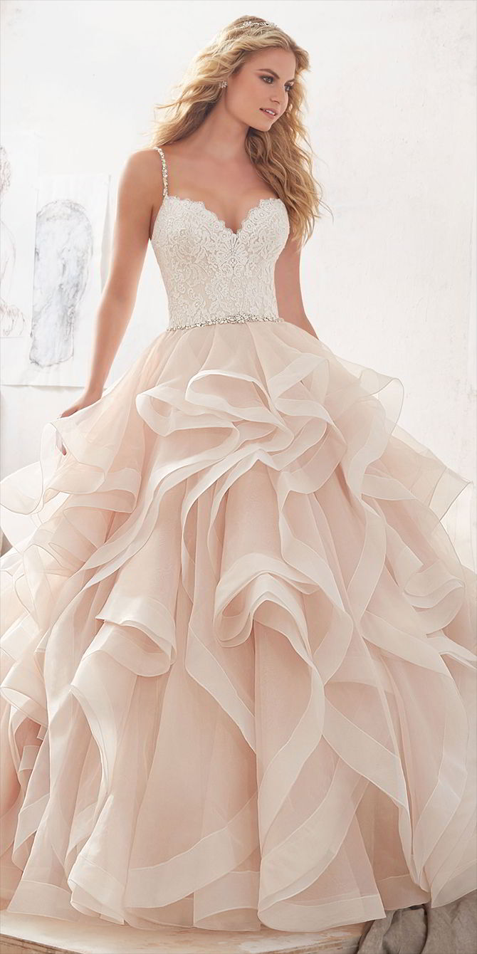 Mori Lee by Madeline Gardner Spring 2017 Glamorous Ball gown