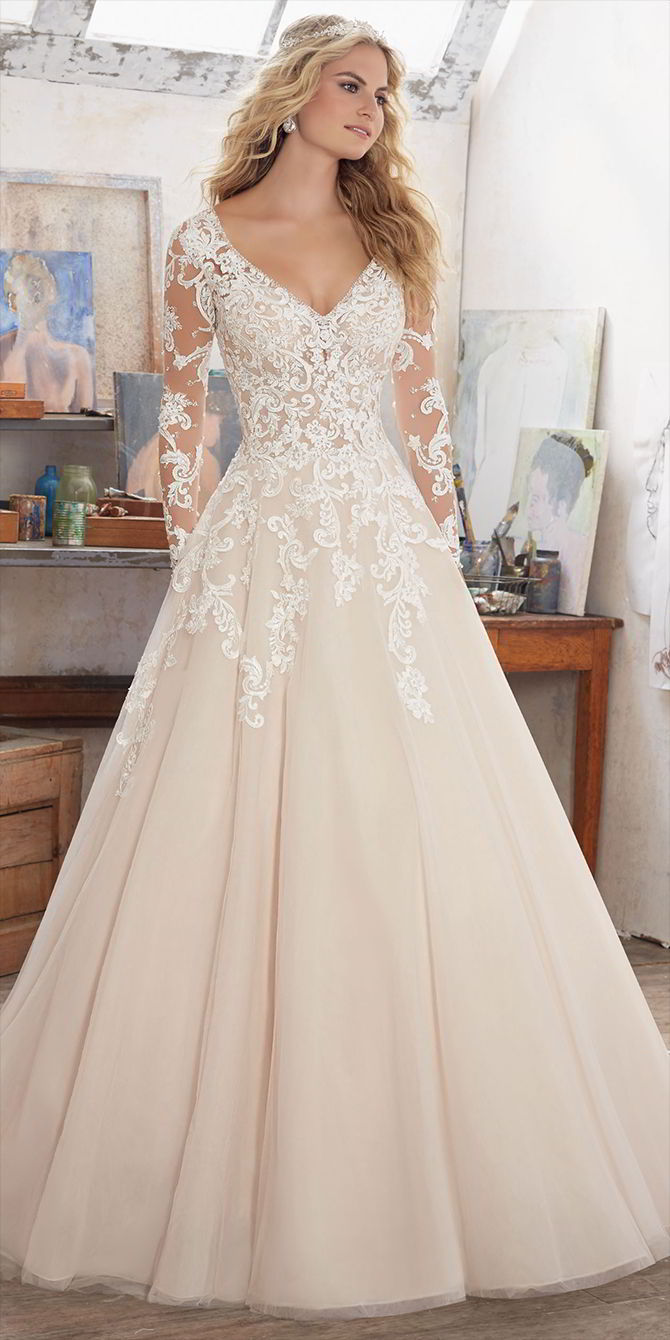 Mori Lee by Madeline Gardner Spring 2017 Wedding Dresses - World of ...