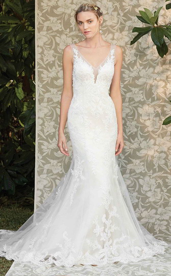 Casablanca bridal spring 2017 wedding dresses world of for Spring wedding dresses 2017