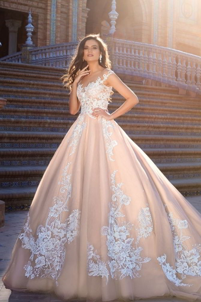 Crystal design 2017 wedding dresses world of bridal for Design wedding dress online
