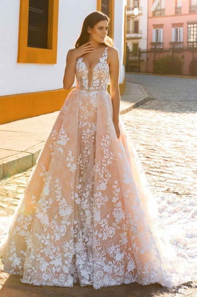 Crystal design 2017 wedding dresses world of bridal for Crystal design wedding dresses