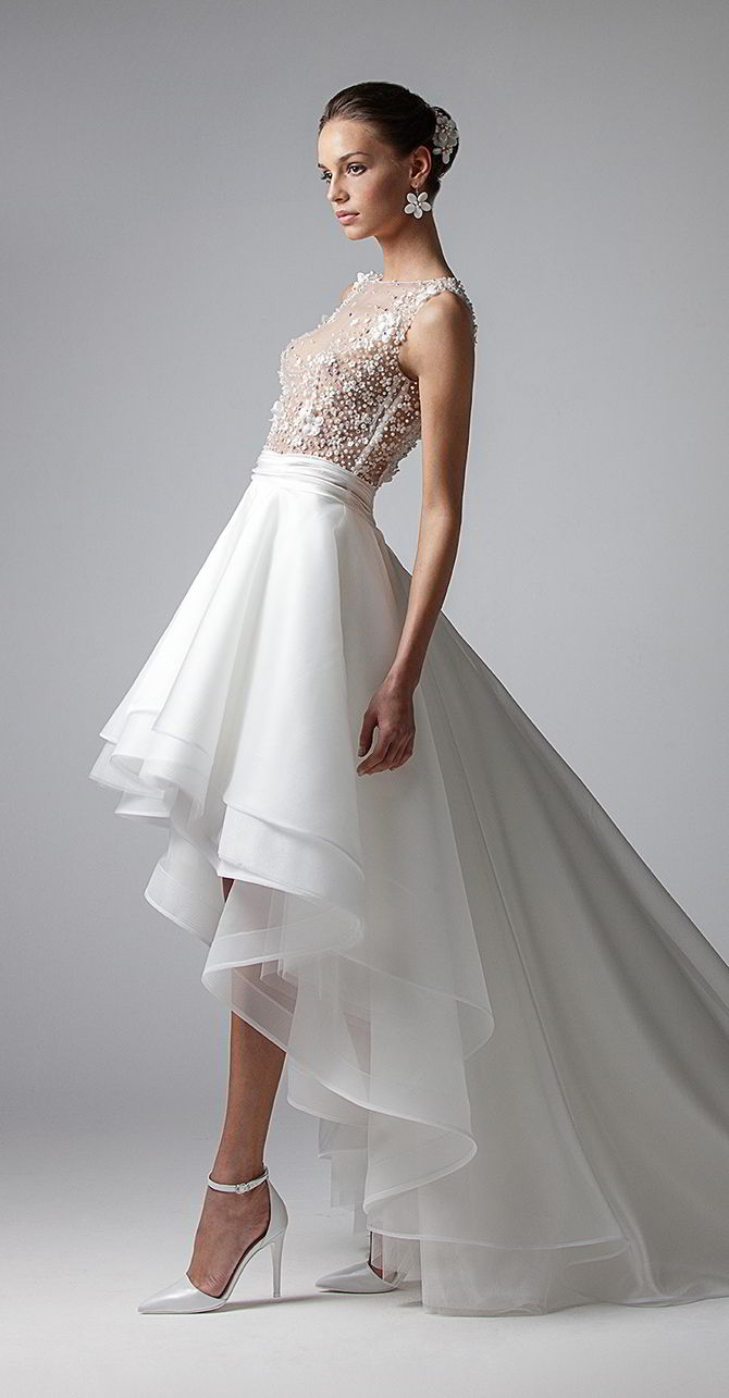 Elegant Short Wedding Dresses