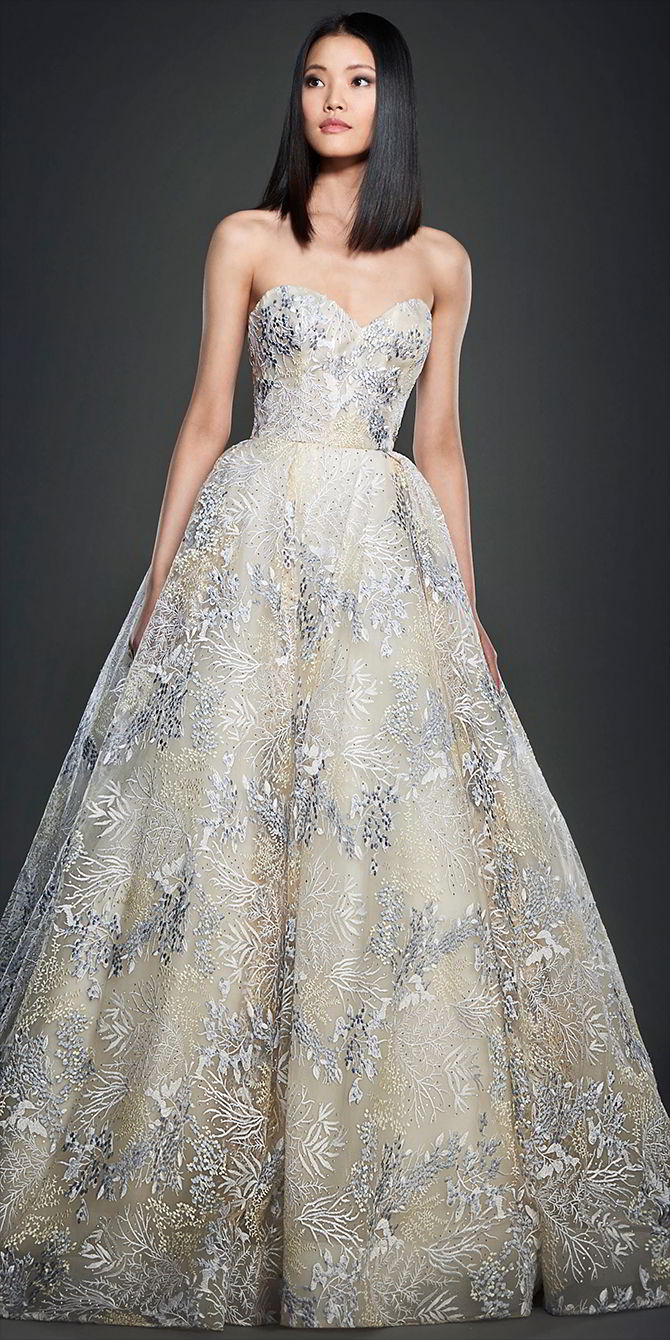 Lazaro spring wedding dresses world of bridal