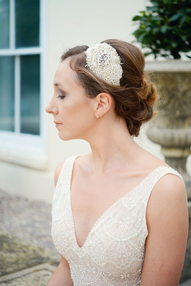 Wedding Headpieces - Morden Hall Styled Wedding - Eva Tarnok Photography