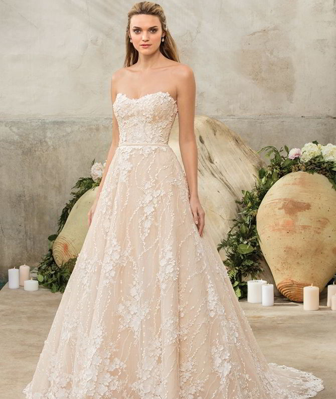 Casa Blanca Wedding Gowns: Casablanca Bridal Fall 2017 : Traditionally Romantic With