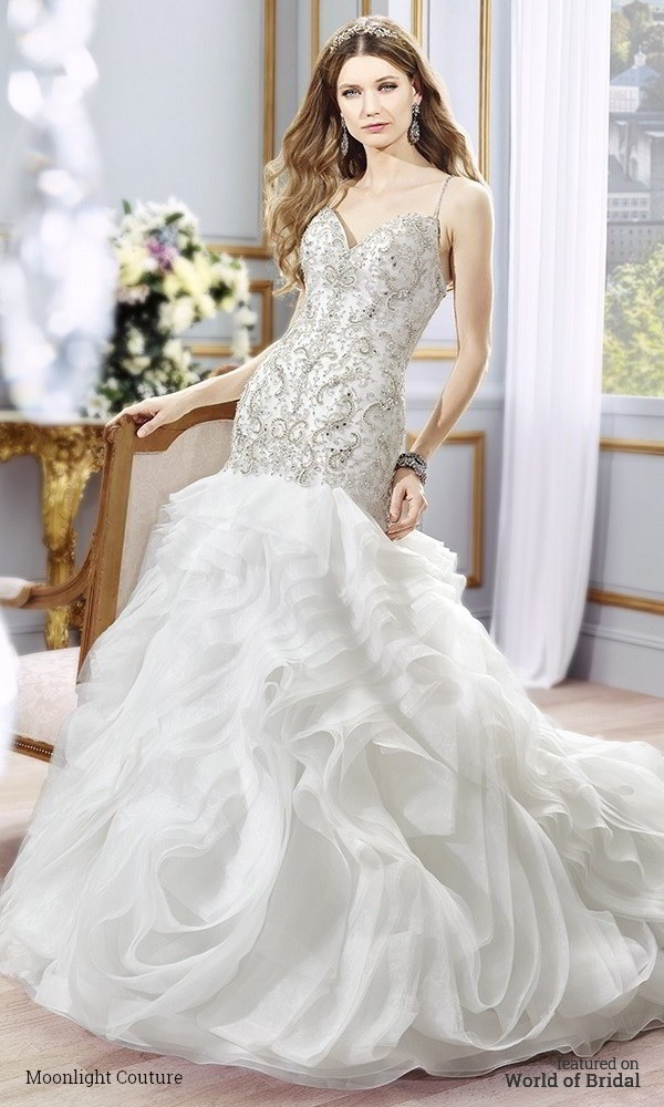 49ea0440a8d Moonlight Couture Spring 2016 Wedding Dresses - World of Bridal