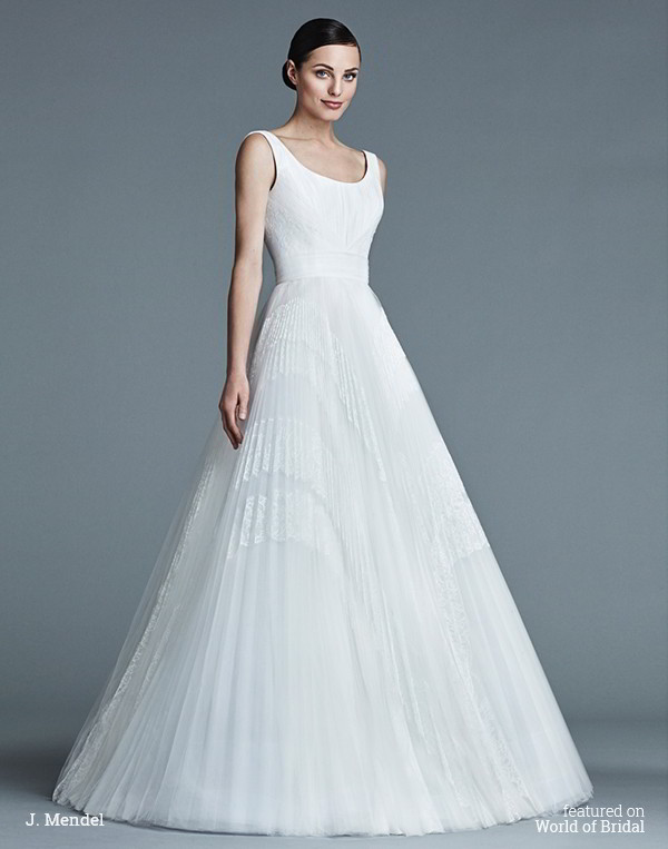 665addb2487 J. Mendel Spring 2016 Wedding Dresses - World of Bridal
