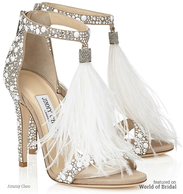 959b14300fe7 Jimmy Choo 2016 Bridal Shoes Collection - World of Bridal