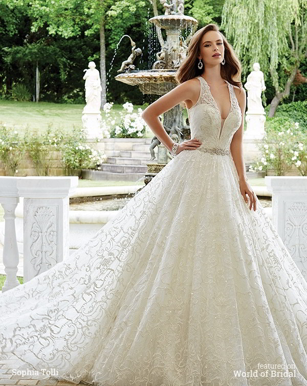 3f8a4a4e798 Sophia Tolli Fall 2016 Wedding Dresses - World of Bridal