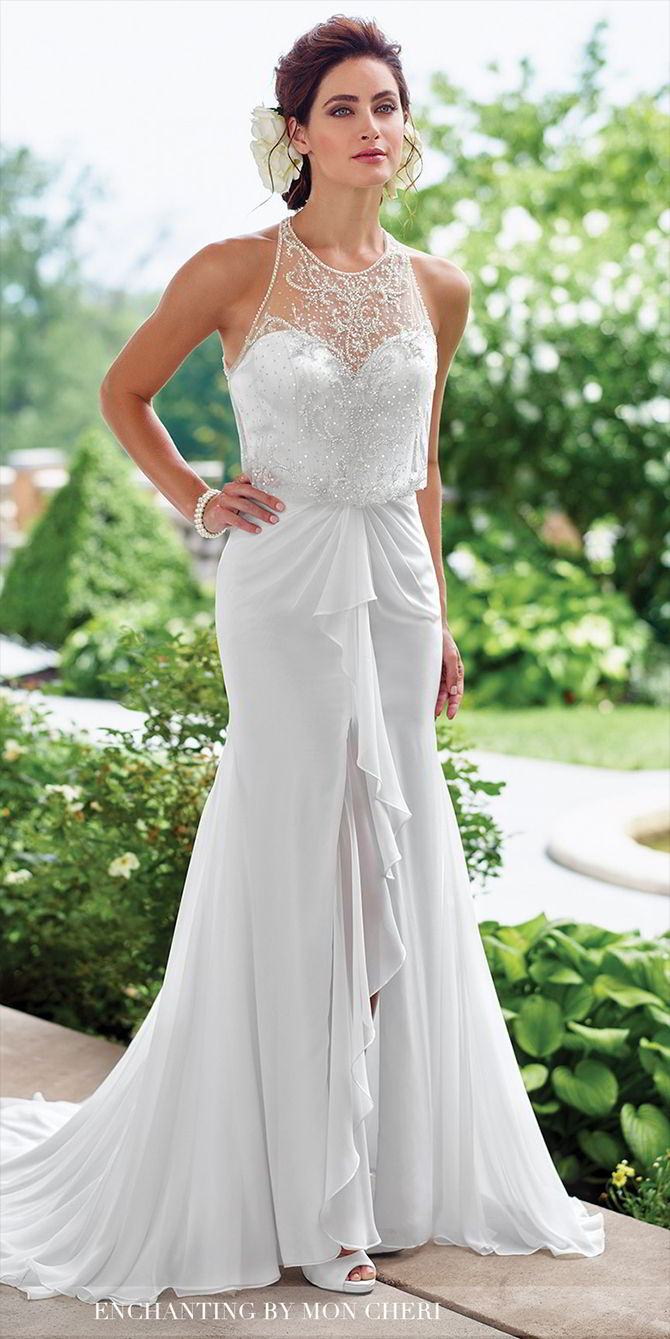 12724ace6ef7 Enchanting by Mon Cheri Spring 2017 Wedding Dresses - World of Bridal