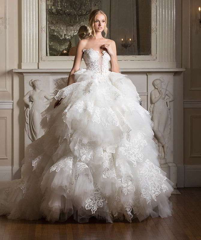 795245f6fb15 Celebrate Love With The Pnina Tornai 2017 'Dimensions' Bridal ...