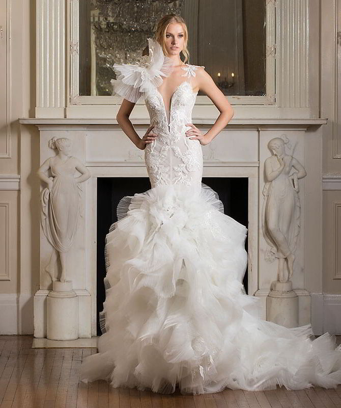 Pnina Tornai Wedding Dress Ball Gown