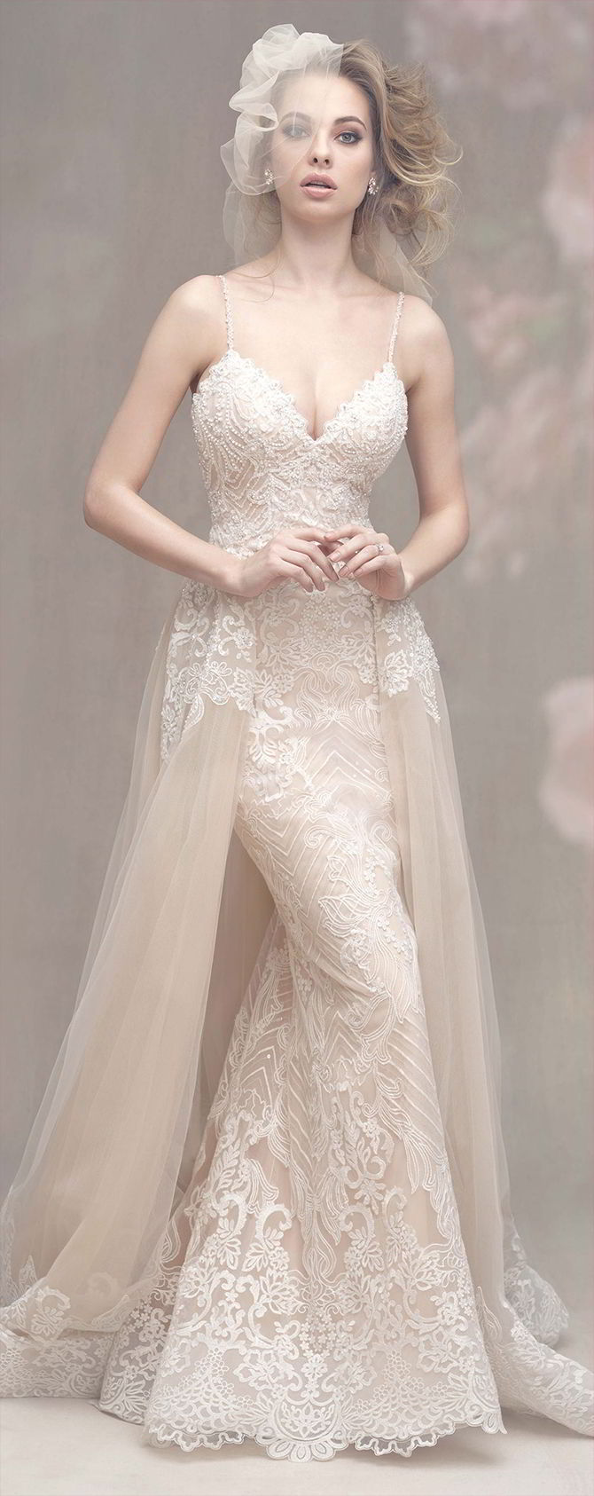sheath lace wedding dress couture fall 2017 wedding dresses world of bridal 7320